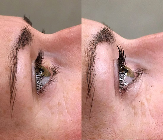 Brooklin Lash Lift and Tint