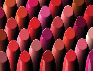 assorment of lipsticks